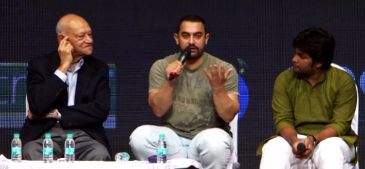 Aamir Khan is disappointed with Karan Johar. Watch his take on AIB Knockout