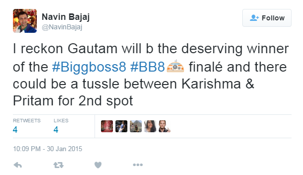 along with bigg boss navin bajaj has also predicted winners of miss