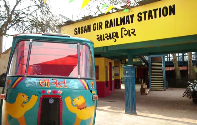 Land of the Lions Replica of Sasan Gir opened in London