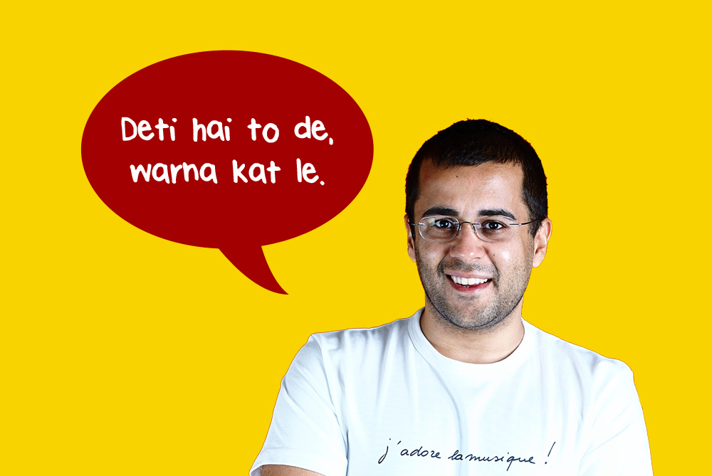 10 Disgusting Lines from Chetan Bhagat's Books