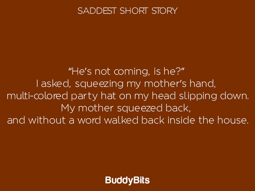 20 Saddest Short Stories That Will Make You Cry! – BuddyBits