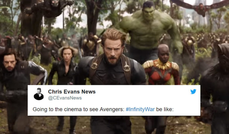 15 Of The Best Tweets About The Lit Trailer That Is Avengers Infinity War