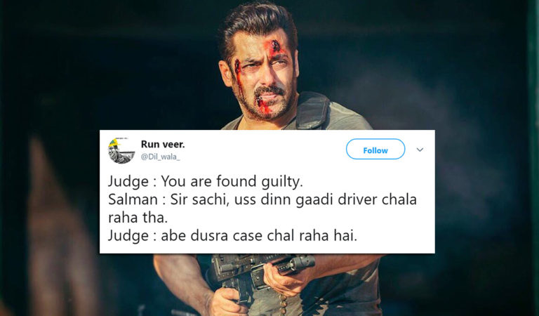 Twitter Gives Its Verdict On Black Buck Poaching & It Is Hilarious!