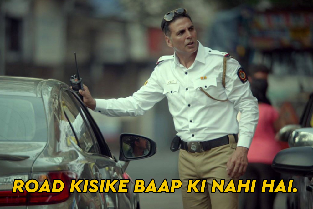 Government Of India's Latest Road Safety Awareness Campaign With Akshay Kumar Is Spot On!