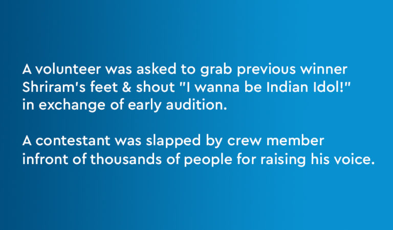 This Guy's Horrible Experience At Indian Idol Auditions Shows Actual Reality Of Reality Shows!