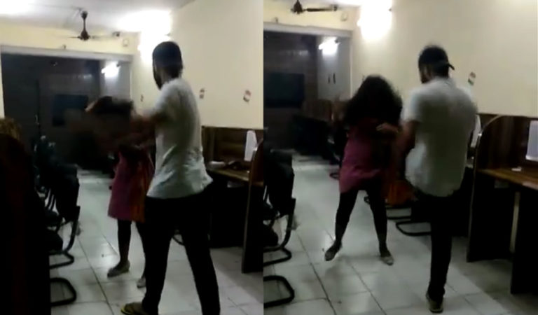 Son Of Policeman In Delhi Brutally Beats A Girl, Video Goes Viral!