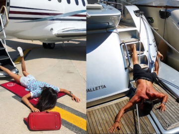 People Are Falling Down To Show Off Wealth In This Instagram Challenge