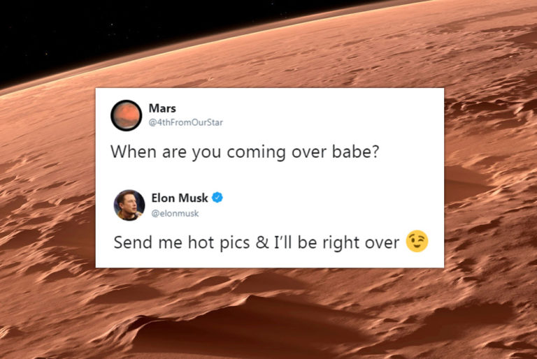 Elon Musk's Epic Conversation With Planet Mars Proves He Is An Entrepreneur With A Swag!